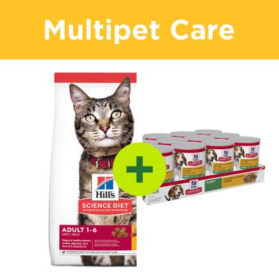 Multipet Plus - Hills Science Diet Dry And Wet Food For Dogs And Cats