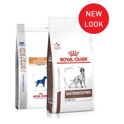 Royal Canin Veterinary Diet Canine Gastro Intestinal Low Fat Dry Dog Food 12kg (15347)