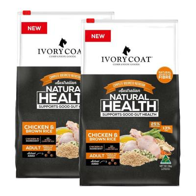 Ivory Coat Chicken And Brown Rice Adult Dry Dog Food 36kg