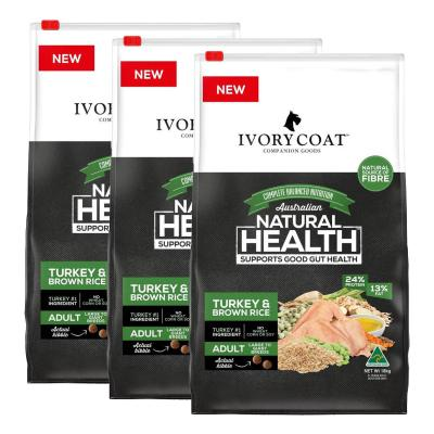 Ivory Coat Turkey And Brown Rice Large Breed Adult Dry Dog Food 54kg