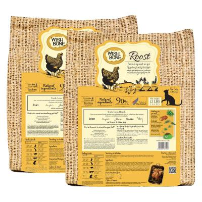 Wishbone Roost Chicken Grain Free Dry Cat Food 10.88kg