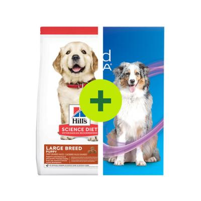 NexGard Spectra Plus Hills Dry Food For Dogs and Puppy