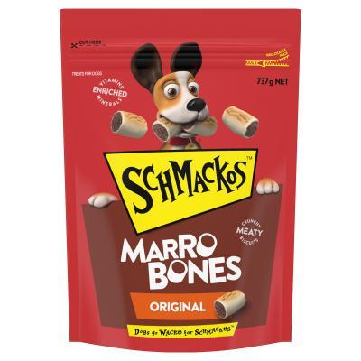 Schmackos Marrobones Original Biscuit Treats For Dogs 737g