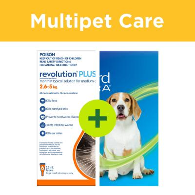 Multipet Plus - NexGard Spectra For Dogs And Revolution Plus For Cats