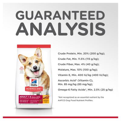 Hills Science Diet Chicken Barley Small Bites Adult Dry Dog Food 6.8kg With Chicken Barley Adult Wet Cans 370g x 12