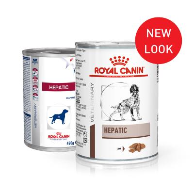Royal Canin Veterinary Diet Canine Hepatic Canned Wet Dog Food 420gm x 12