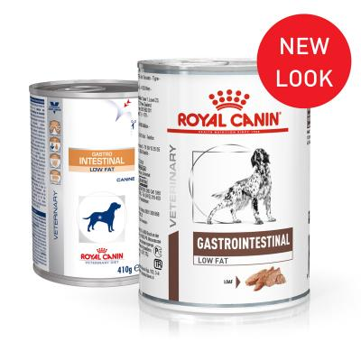 Royal Canin Veterinary Diet Gastrointestinal Low Fat Canned Wet Dog Food 410gm x 12