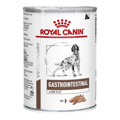 Royal Canin Veterinary Diet Canine Gastrointestinal Low Fat Canned Wet Dog Food 410gm x 12