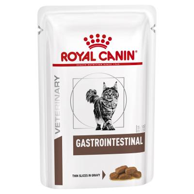 Royal Canin Veterinary Diet Feline Gastrointestinal Pouch Wet Cat Food 85gm x 12
