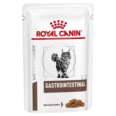Royal Canin Veterinary Diet Feline Gastrointestinal Pouch Wet Cat Food 85gm x 12