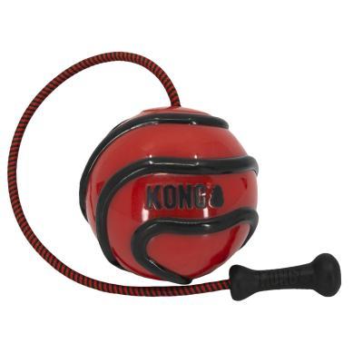 KONG Wavz Bunji Ball Assorted Colours Medium Toy For Dogs
