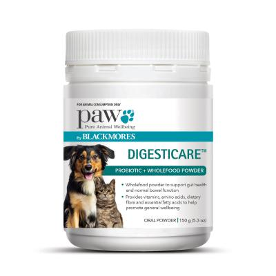 PAW By Blackmores DigestiCare Probiotic For Cats And Dogs 150gm