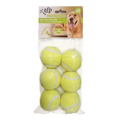 AFP Interactives Hyper Fetch Mini Replacement Balls Toy For Dogs 6 Pack