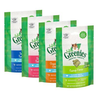 Greenies Feline Dental Treats Multipack For Cats 60g x 4