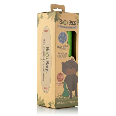 Beco Bags Unscented Extra Large Poop Bags For Dogs Eco 300 Pack