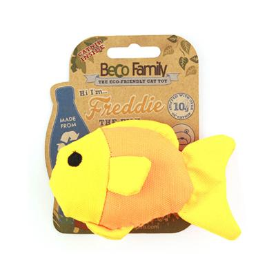 Beco Freddie The Fish Eco Friendly Catnip Toy For Cats