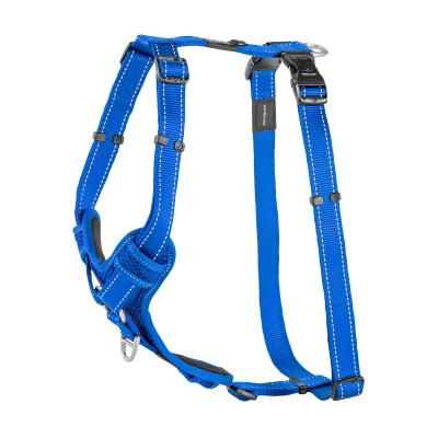 Rogz Control Reflective Padded  Harness Blue XLarge For Dogs 60-100cm Girth