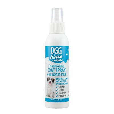 DGG Extra Care Conditioning Coat Spray With Goats Milk For Dogs 150ml