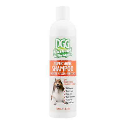 DGG Natural Therapies Super Shine Shampoo For Dogs 400ml
