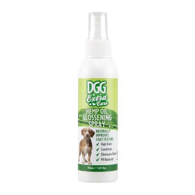 DGG Extra Care Hemp Oil Glossening Spray For Dogs 150ml