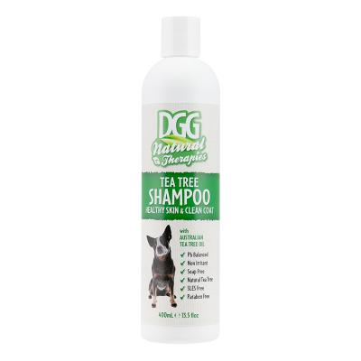 DGG Natural Therapies Tea Tree Healthy Skin Clean Coat Shampoo For Dogs 400ml