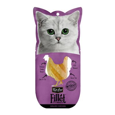 Kit Cat Fillet Fresh Grilled Chicken Treat For Cats 25gm