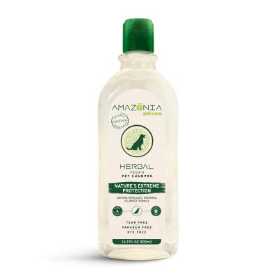 Amazonia Herbal Extreme Protection Natural Vegan Shampoo For Dogs 500ml