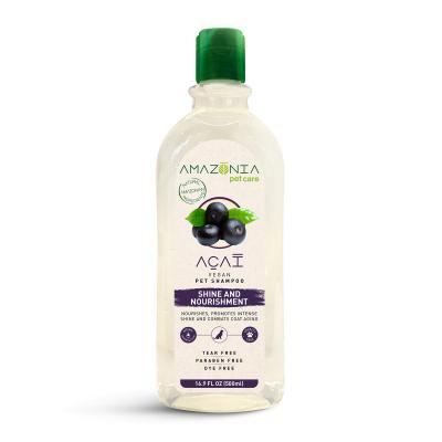 Amazonia Acai Shine And Nourishment Natural Vegan Shampoo For Dogs 500ml