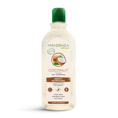 Amazonia Coconut Deeply Nourishing Natural Vegan Shampoo For Dogs 500ml
