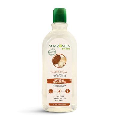 Amazonia Cupuacu Natural Sunscreen Vegan Shampoo For Dogs 500ml