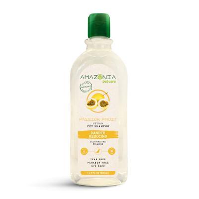 Amazonia Passionfruit Dander Reducing Natural Vegan Shampoo For Dogs 500ml