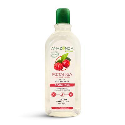 Amazonia Pitanga Brazilian Cherry Revitalising Natural Vegan Shampoo For Dogs 500ml