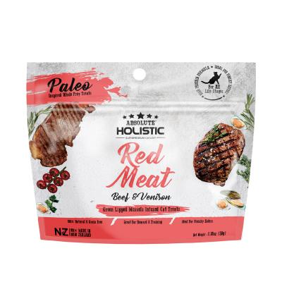 Absolute Holistic Air Dried Grain Free Red Meat Beef And Venison Cat Treats 50gm