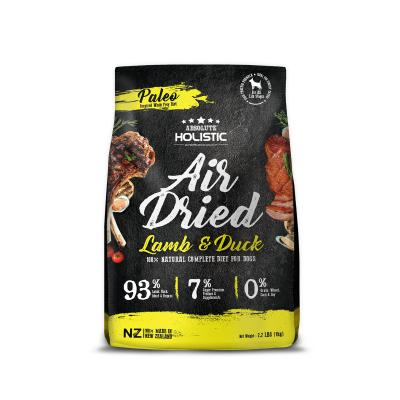 Absolute Holistic Air Dried Grain Free Lamb And Duck Dog Food 1kg
