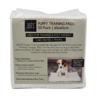 ZEEZ Toilet Training Pads For Puppy And Dogs 50 Pack