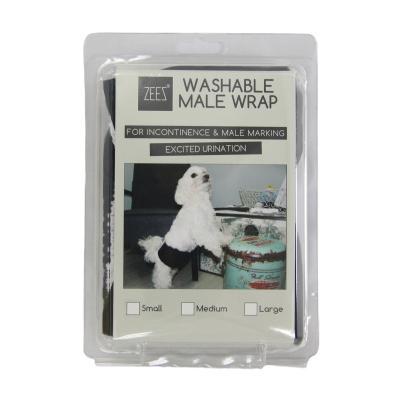 ZEEZ Washable Male Wrap Large For Dogs (Waist 45-64cm)