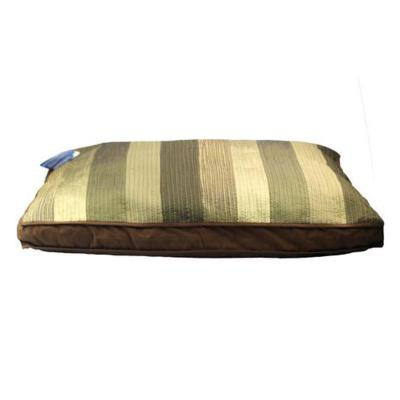 Carpenter Bill Pillow Cushion Bed Olive Green/Brown Large For Dogs