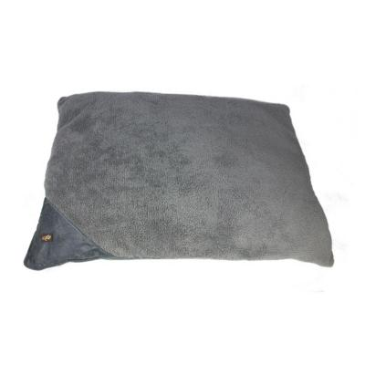 AFP Lambswool Pillow Cushion Bed Grey Large For Dogs