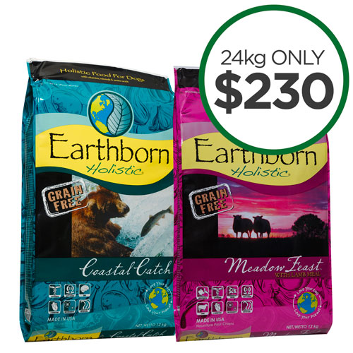 Earthborn 24kg Value Bags