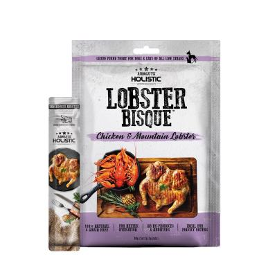 Absolute Holistic Chicken & Mountain Lobster Bisque Paste Puree Treat For Dogs And Cats 60gm