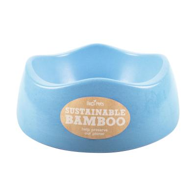 Beco Eco Friendly Bamboo Bowl Blue Large For Dogs 1.5L