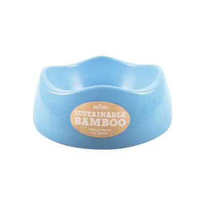 Beco Eco Friendly Bamboo Bowl Blue Medium For Dogs 750ml