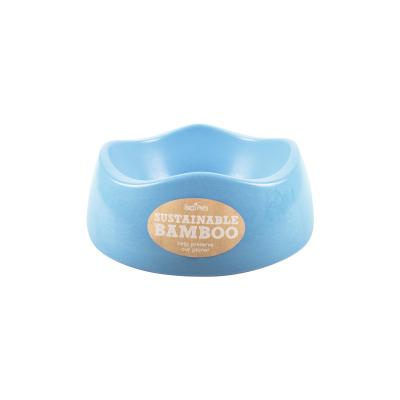Beco Eco Friendly Bamboo Bowl Blue Small For Dogs 500ml
