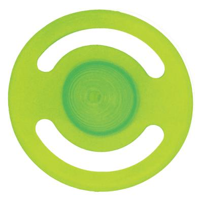 Scream Disc Loud Green Fetch Water Toy For Dogs
