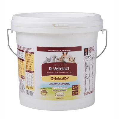 Di-vetelact OriginalDV Low Lactose Animal Milk Replacer And Nutritional Supplement 5kg Divetelact