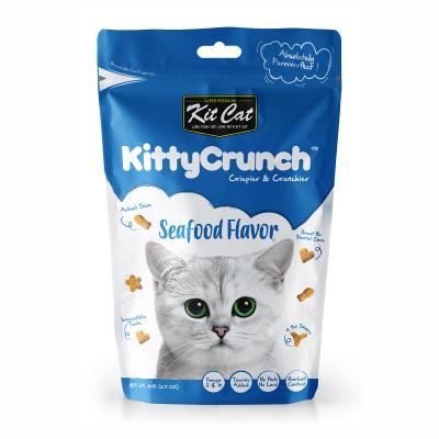 Kit Cat Kitty Crunch Seafood Treats For Cats 60gm