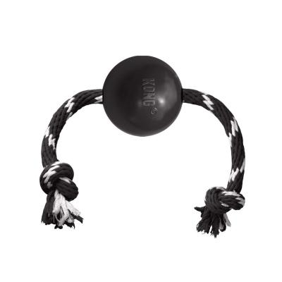 KONG Extreme Ball With Rope Large Toy For Dogs