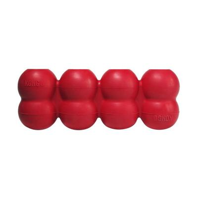 KONG Goodie Ribbon Red Rubber Medium Toy For Dogs