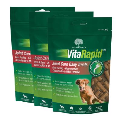Vetalogica VitaRapid for Dogs Joint Arthritis Daily Treats x 3