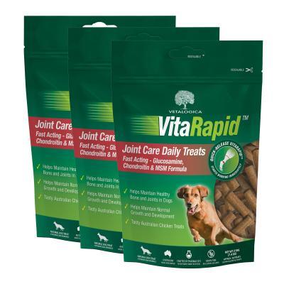 Vetalogica VitaRapid for Dogs Joint Arthritis Daily Treats x 3